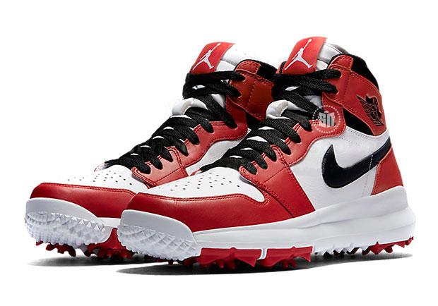 "Air Jordan 1 ""Chicago""がゴルフシューズに!"